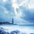 灯台 · 日没 · 桟橋 · 日の出 · 岩 · イングランド - ストックフォト © tycoon