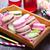 cookie · tabeli · kolor · czekolady · ciasto · pomarańczowy - zdjęcia stock © tycoon