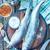 vers · vis · markt · Turkije · voedsel - stockfoto © tycoon