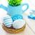 paskalya · yumurtası · Paskalya · bahar · dizayn · tablo · yeşil - stok fotoğraf © tycoon
