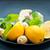 jengibre · limón · menta · madera · mesa - foto stock © tycoon