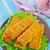 пальца · рыбы · Stick · продовольствие · детей - Сток-фото © tycoon