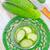 objecten · komkommer · organisch · lokaal · boeren · markt - stockfoto © tycoon