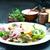 tintahal · saláta · fehér · étterem · olaj · állat - stock fotó © tycoon