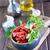secar · tomates · madeira · vidro · fundo · branco - foto stock © tycoon