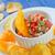 salsa · saus · houten · tafel · voedsel · restaurant · Rood - stockfoto © tycoon