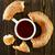 全粒小麦 · ベーグル · 孤立した · 白 · パン · 小麦 - ストックフォト © tycoon