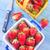 apetitoso · morango · mulher · jovem · alimentação · menina - foto stock © tycoon