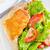sültcsirke · láb · tyúk · vacsora · fehér · ebéd - stock fotó © tycoon