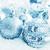 kék · hópehely · karácsony · golyók - stock fotó © tycoon