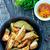 rustiek · aardappel · plantaardige · kruid - stockfoto © tycoon