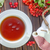 茶 · ガラス · ティーポット · 白 · 食品 · バラ - ストックフォト © tycoon