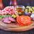 catering · diferente · carne · queijo · produtos · comida - foto stock © tycoon