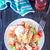 ensalada · cuscurro · carne · verduras · frescas · frito · placa - foto stock © tycoon