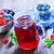 fresco · vermelho · groselha · água · fruto - foto stock © tycoon