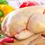 geroosterde · kip · verse · groenten · hout · vogel · tabel - stockfoto © tycoon