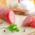 salami · plaster · brązowy · chleba · krem · ser - zdjęcia stock © tycoon