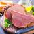 ahumado · cerdo · jamón · comida · concepto - foto stock © tycoon