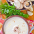 funghi · zuppa · ciotola · tavola · alimentare · verde - foto d'archivio © tycoon