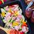 итальянская · кухня · ягненка · томатном · соусе · тесные · Салат · овощей - Сток-фото © tycoon