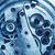 fogaskerekek · sebességváltó · bent · gép · óra · technológia - stock fotó © tycoon