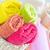 handdoeken · shampoo · bloemen · zon · Blauw · ontspannen - stockfoto © tycoon