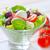caprese · yaprak · akşam · yemeği · kırmızı · salata · yeme - stok fotoğraf © tycoon