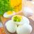 organisch · eieren · witte · plaat · houten · tafel - stockfoto © tycoon