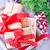 hediyeler · Noel · dekorasyon · tablo · arka · plan · kutu - stok fotoğraf © tycoon