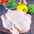 クローズアップ · ローストチキン · 新鮮な野菜 · 木材 · 鳥 - ストックフォト © tycoon