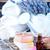 オブジェクト · バス · 色 · 石鹸 · ラベンダー · 表 - ストックフォト © tycoon