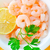 boiled shrimps in the white bowl on the table stock photo © tycoon