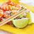 pirinç · gıda · balık - stok fotoğraf © tycoon