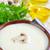 taze · vejetaryen · çorba · beyaz · çanak · mavi - stok fotoğraf © tycoon