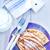 placa · mesa · hoja · torta · leche - foto stock © tycoon