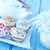 Valentin · nap · torta · illusztráció · szalag · tányér · desszert - stock fotó © tycoon