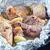 ızgara · domuz · eti · parçalar · baharatlar · biberiye · et - stok fotoğraf © tycoon