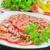 produceren · organisch · knoflook · display · boeren · markt - stockfoto © tycoon