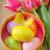 イースターエッグ · イースター · 花 · 塗料 · 卵 · 色 - ストックフォト © tycoon