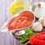çanak · makarna · organik · domates · sosu · ev · yapımı · yeşil - stok fotoğraf © tycoon