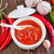 赤 · ホット · 唐辛子 · ソース · 市場 · 色 - ストックフォト © tycoon