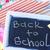 material · escolar · fronteira · quadro-negro · caneta · lápis · educação - foto stock © tycoon