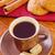 csokoládé · sütik · csésze · kávé · közelkép · asztal - stock fotó © tycoon
