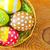 huevos · de · Pascua · flores · madera · huevo · blanco · vacaciones - foto stock © tycoon