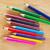 szett · szín · ceruzák · fehér · ceruza · narancs - stock fotó © tycoon