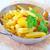 フライド · ジャガイモ · プレート · 塩 · ニンニク - ストックフォト © tycoon