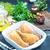 tavuk · ızgara · limon · keklikotu · üst · görmek - stok fotoğraf © tycoon