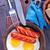 жареный · яйца · соус · весны - Сток-фото © tycoon
