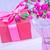 présente · cases · fleur · mariage · amour · heureux - photo stock © tycoon