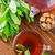 hortelã-pimenta · chá · textura · orgânico · solto · folha - foto stock © tycoon